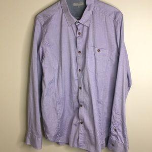 Ted baker London  button front shirt sz XL sz 5